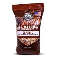 (2 pack) Pit Boss Classic Blend BBQ Grilling Pellets - 30 lb Resealable Bag
