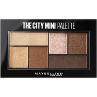 The City Mini Eyeshadow Palette Makeup Rooftop Bronzes