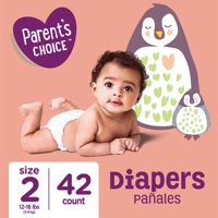 Parent's Choice Diapers, Size 2, 42 Diapers