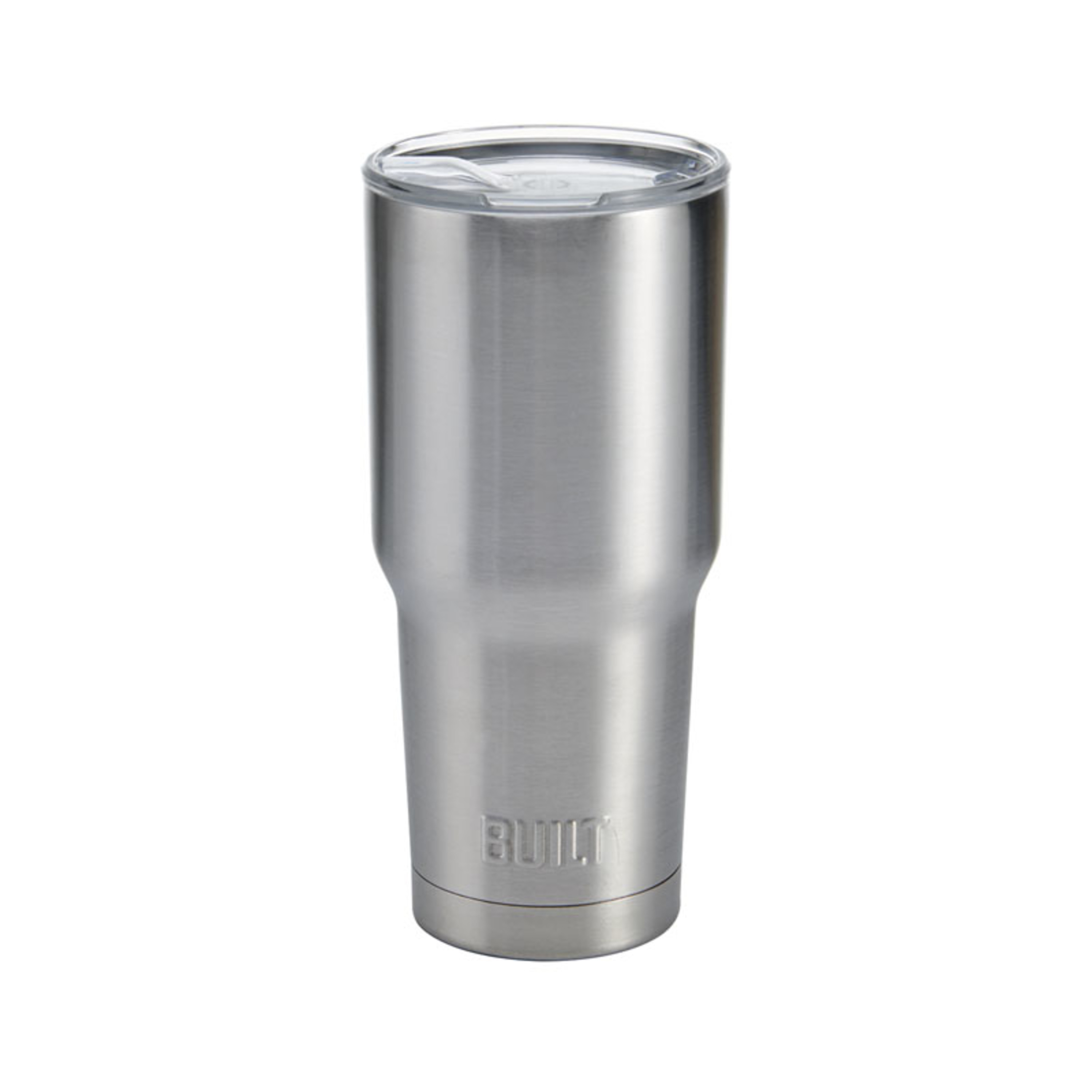 Built 30- ounce Double Wall Stainless Steel Tumbler, Stainless Steel