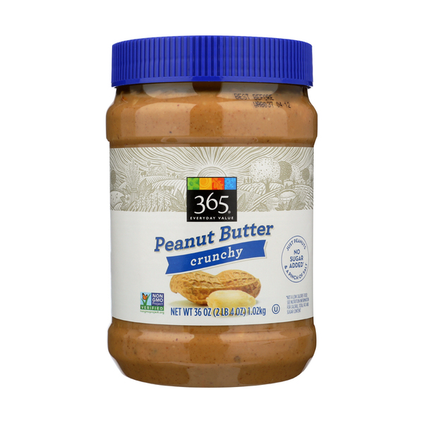 365 Everyday Value® Crunchy Peanut Butter, 36 oz