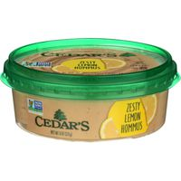 Cedar Hommus Zesty Lemon