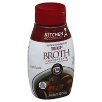 Kitchen Accomplice Reduced Sodium Beef Broth Concentrate