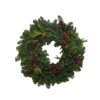 "28"" Double Ring Mixed Wreath"