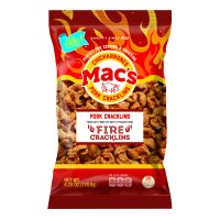 Mac's Fire Pork Cracklins, 6.25 Oz.