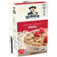 Quaker Instant Oatmeal, Original, 12 Packets