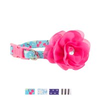 Vibrant Life Patterned Fashion Dog Collar, Cherry, Small