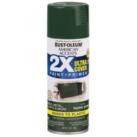 Hunter Green, Rust-Oleum American Accents 2X Ultra Cover, Gloss Spray Paint, 12 oz