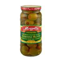 Mezzetta Martini Olives Imported Spanish Queen Marinated With Dry Vermouth