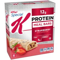 Kellogg's Special K, Protein Meal Bars, Strawberry, 9.5 Oz, 6 Ct