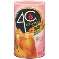 4C Drink Mix, Natural Peach, 74.2 Oz, 1 Count