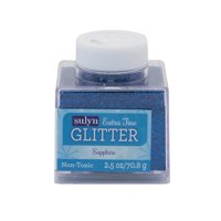 Sulyn Extra Fine Sapphire Glitter, 2.5 Oz.