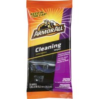 Armor All Cleaning Wipes Flat Pack, 20 count