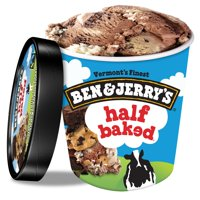 Ben & Jerry's Ice Cream Half Baked 16 oz