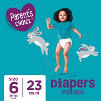 Parent's Choice Diapers, Size 6, 23 Diapers