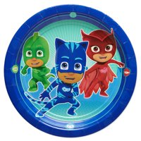 American Greetings PJ Masks Party Supplies Paper Dessert Plates, 8-Count