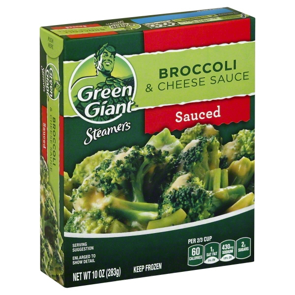 General Mills Green Giant Steamers Broccoli & Cheese Sauce, 10 oz