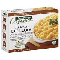 Central Market Creamy Deluxe Whole Wheat Shells & Cheddar Cheese Sauce