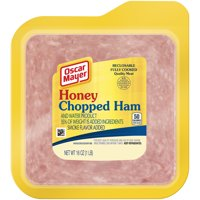 Oscar Mayer Honey Chopped Ham With Smoke Flavor Added, 16 oz Vacuum Pack