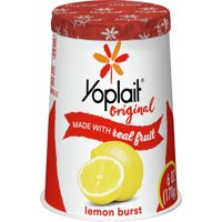 Yoplait Original Lemon Burst Low-Fat Yogurt, 6 Oz.