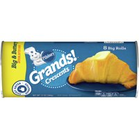 Pillsbury Grands! Crescent Rolls Big & Buttery, 8Ct 12oz