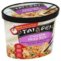 Tai Pei Fried Rice, Chicken, Tub, 11.0 OZ