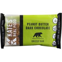 Kate's Real Food Peanut Butter Dark Chocolate Grizzly Bar