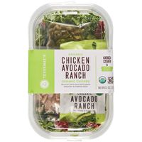 Tessemae's All Natural Salad Kit, Organic, Chicken Avocado Ranch
