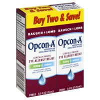Bausch & Lomb Opcon-A Eye Drops, 2 Count