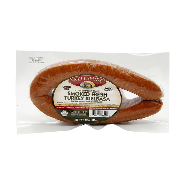 Smoked Fresh Turkey Kielbasa, 12 oz