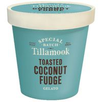 Tillamook Gelato, Toasted Coconut Fudge