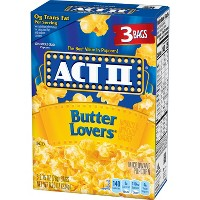 Act II Butter Lovers Popcorn - Bags - 33.016oz