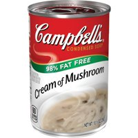 Campbell'sCondensed 98% Fat Free Cream of Mushroom Soup, 10.5 oz. Can