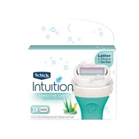 Schick Intuition Sensitive Care Women's Razor Blade Refills, 3 Ct