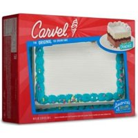 Carvel Party Size Ice Cream Cake, Chocolate and Vanilla Ice Cream and Crunchies, 95 oz