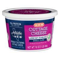 H-E-B Low Fat Cottage Cheese