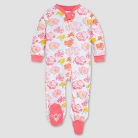 Burt's Bees Baby® Baby Girls' Rosy Spring Organic Cotton Sleep N' Play - Pink