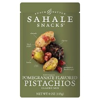 Sahale Snacks Pomegranate Flavored Pistachios - 4oz