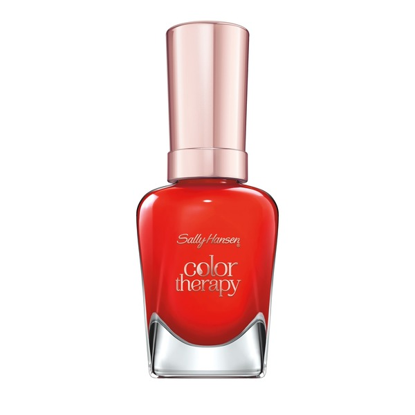 Sally Hansen Color Therapy Nail Polish 340 Red-Iance