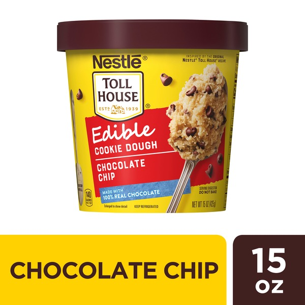 Toll House Nestle  Chocolate Chip Edible Cookie Dough