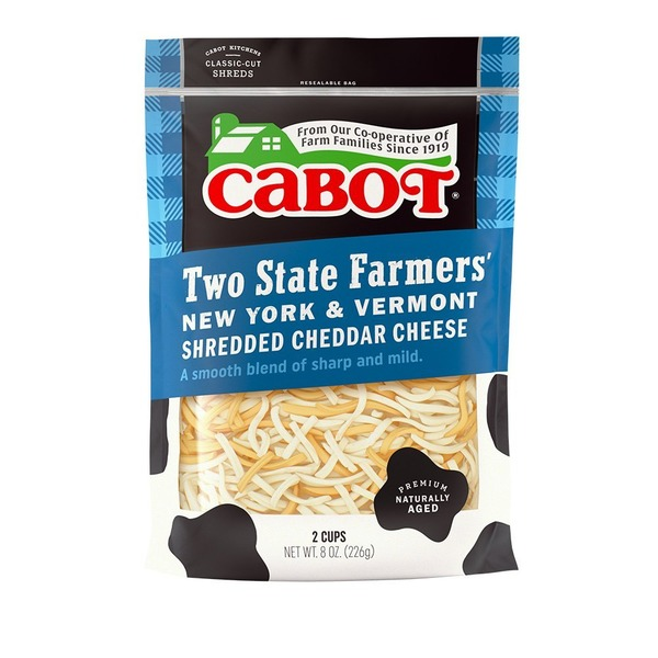 Cabot Two State Farmers Cheddar