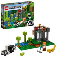 LEGO Minecraft The Panda Nursery 21158 Construction Toy for Kids, Great Gift for Fans of Minecraft (204 Pieces)