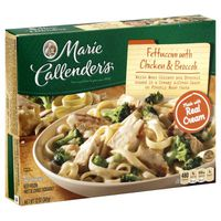 Marie Callender's Fettuccini Alfredo With Chicken And Broccoli Dinners