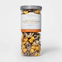 Chunky Chocolate Indulgent Snack Mix Popcorn Pretzels & Potato Chips - 18oz - Wondershop™