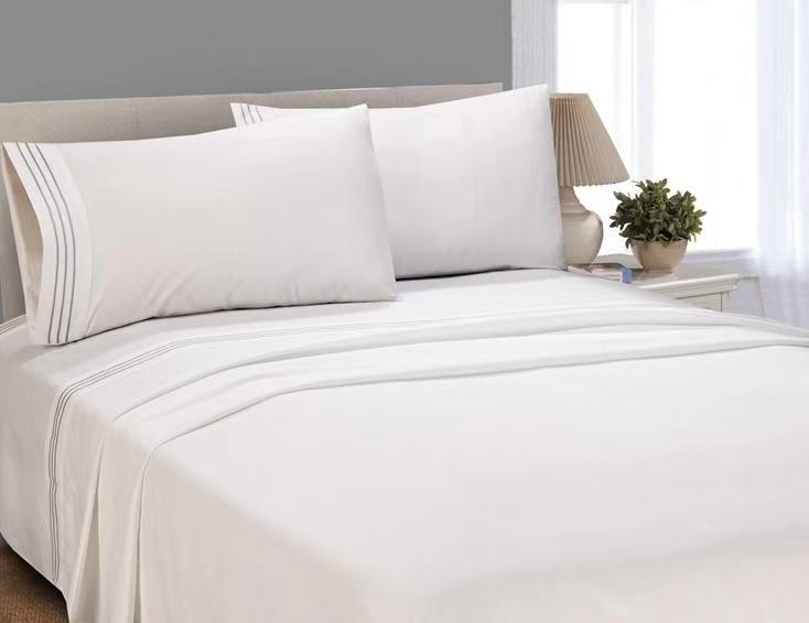 Better Homes and Gardens Luxury Microfiber Embroidered Sheet Set