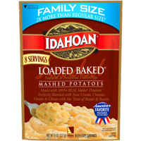 Idahoan® Loaded Baked® Mashed Potatoes Family Size pouch, 8 (1/2 cup) servings
