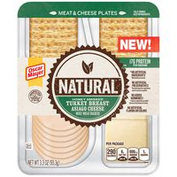 Oscar Mayer Natural Honey Smoked Turkey & Asiago Meat & Cheese Plate