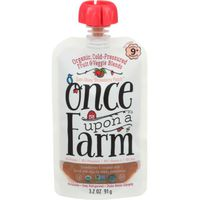 Once Upon a Farm Baby Food, Organic, Sun-Shiny Strawberry Patch, Stage 3 (9+ Months)
