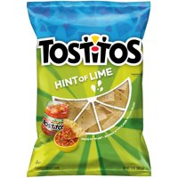 Tostitos Hint of Lime Tortilla Chips, 13 Oz.