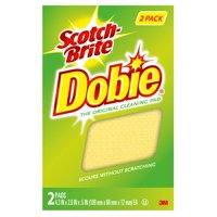 Scotch-Brite Dobie All Purpose Cleaning Pad, 2 Count, Non-Scratch